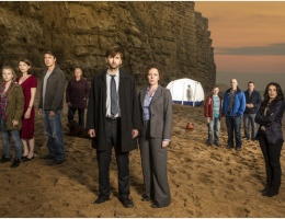 Broadchurch have been filming near Bristol