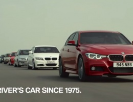 Tribute to each generation of the BMW 3 Series