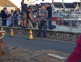 James resumes Week 12/18 of filming Broadchurch 2