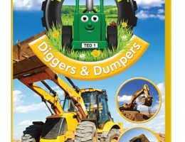 Diggers & Dumpers Tractor Ted DVD