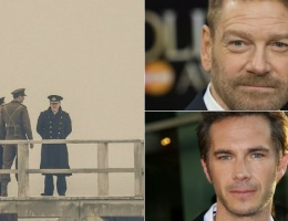 First Set Photos of James D'Arcy with Kenneth Branagh
