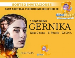 "Cine+Food Pre-Premiere and ""Making of"" Gernika exclusive clip"
