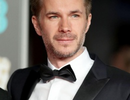 James D'Arcy at the EE British Academy Film Awards