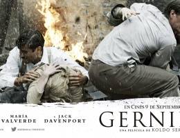 Great news!  James attending the premiere of Gernika in Madrid